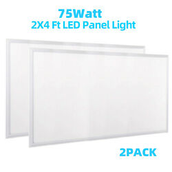 2x4#x27; 75W ETL Commercial Ultr Thin Drop Ceiling Dimmable LED Panel Light 2 20pack $1539.00