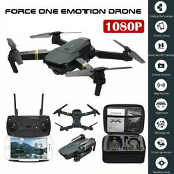 Force One E58 Drone Pro WI FI 1080P HD Camera Battery Foldable RC Quadcopter $53.99
