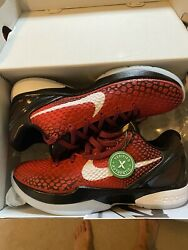 Kobe 6 Red Protro challenge Red All Star Size 10 US *CONFIRMED StockX* $299.00
