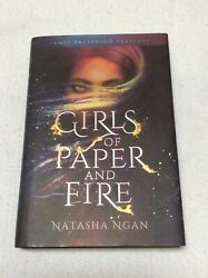 Girls of Paper and Fire by Natasha Ngan First Edition Hardcover Like New $10.00