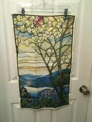 Metropolitan Museum of Art Kitchen Towel Louis Comfort Tiffany Stained Glass Win $19.99