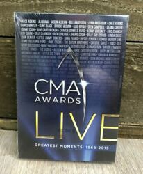CMA Awards Live: Greatest Moments: 1968 2015 DVD 10 DVD Set Time Life