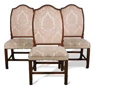 Set Of 6 Antique Period Chippendale 1780's Portuguese Dining Room Chairs RARE $2499.00