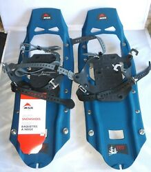 "MSR Evo Trail Snowshoes 22"" Teal New w Tag $129.99"