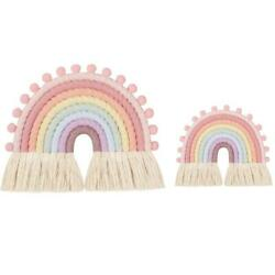 8 Lines Rainbow Tapestry Wall Hanging Living Room Kid Room Decoration Home Decor $13.75