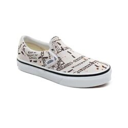 Vans Off The Wall Kids X Harry Potter Marauders Map Slip on Shoes Size 10.5K $55.00