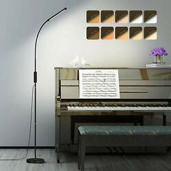 Modern LED Adjustable Standing Floor Lamp 5 Brightness Levels & 5 Light Colors $39.90