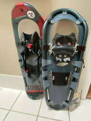 Tubbs snowshoes Wilderness 25 New Never worn Gray Red $144.99