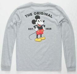 Vans Off The Wall Kids X Mickey Mouse Classic Long Sleeve Tee T Shirt $25.00
