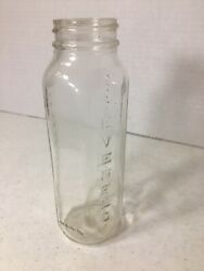 EVENFLO Baby Bottle Glass 8 oz Made in USA 240 Centimeters Vintage $11.99