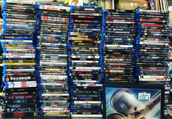 BLU RAY Discount Lot Pick and Choose your bundle of Movies LIMITED TIME SALE $3.25
