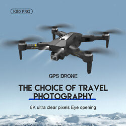 Foldable Drones with Camera Wifi 20 Mins Flight Time with GPS Return Home $92.71
