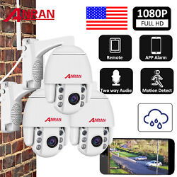 ANRAN 1080P Wireless Security Camera WIFI CCTV System Outdoor with Audio Record $69.99