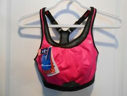 Women#x27;s Champion Max Support Sports Bra Size: 34D Color: Pink Gray Black $4.50