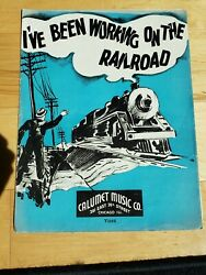 Vintage 1936 I#x27;ve Been Working On The Railroad Sheet Music $7.99