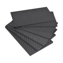 Straight Weave Carbon Fiber Plate Panel Sheet 0.5mm 1mm 2mm 3mm for RC FPV $6.13