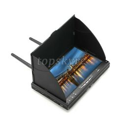 7quot; TFT LCD Screen FPV Monitor LT5802S 5.8G 40CH LED Backlight for RC UAV Drone $85.42