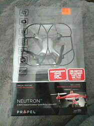 Propel RC Neutron 2.4GHz Indoor Outdoor Quad Rotor Helicopter HD Video Camera $29.99