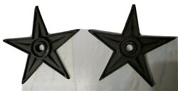 Texas Star Rustic Ranch Architectual Stress Washer Cast Iron X Large Decor 9quot; cp $12.00