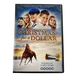 Christmas for a Dollar DVD2013 Inspired by a True Story New $7.99