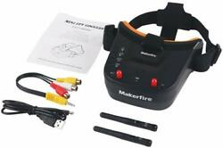 5.8Ghz Mini FPV Goggles 3 Inch 40CH FPV Video Headset Glasses for Racing Drone $45.99