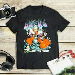 Vintage The Mighty Ducks t Shirt Vintage Gift For Men Women Funny Black Tee $21.99