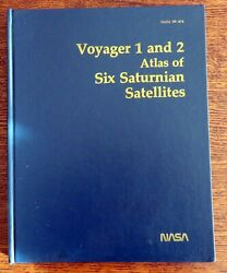 Voyager 1 and 2 Atlas of Six Saturnian Satellites NASA SP 474 Space exploration $35.00