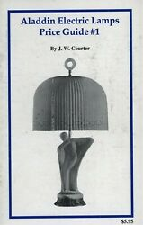 Aladdin Electric Lamps Shades Types Models Values Scarce Book $32.95