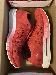 Under Armour HOVR Sonic 2 Shoes Size 12 Mens with Box Red and White $40.00