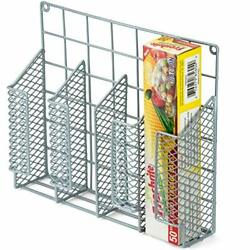 DecorRack Wrap Organizer Rack Wall and Cabinet Door Mount Space Saving Kitche... $25.73