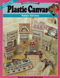 USED MAINLY KITCHEN HOME STORAGE CONTAINERS amp; MORE PLASTIC CANVAS PATTERN BOOK $12.00