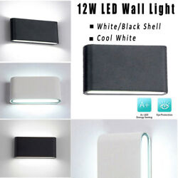 LED Sconce Lights Exterior lights Cool White 12W Porch Up Down Waterproof 6500K
