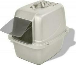Covered Cat Litter Box Large For Single Cat Households Easy To Clean Odor Free $32.42