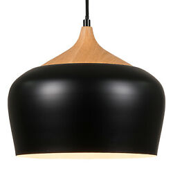 Modern Ceiling Light Shade Frosted Black Metal Bowl Shape Replacement Shades $68.71