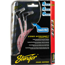 Stinger SI416 Red 6Ft 4000 Series 3.5Mm To 3.5Mm Headphone Jack Interconnect New $11.90