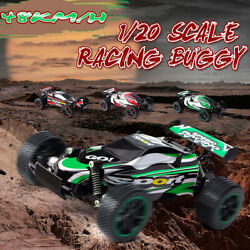 2.4Ghz Off Road RC High Speed Mini Racing Car 1 20 Remote Control Truck Toys $24.66
