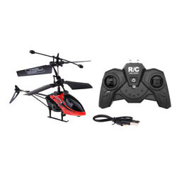 2 Channel 2.4G Remote Control LED Lights RC Helicopter Quadcopter Toys $14.03