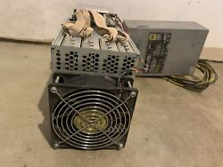 Bitmain Antminer L3 504 mh s Dogecoin Litecoin with power supply instock USA $1599.00