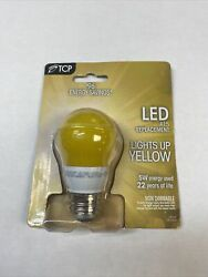 TCP 5W Equivalent LED Yellow Bug Light Bulbs Non Dimmable $8.00