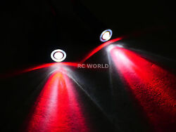 RC Racing Drone Quad LIGHT SYSTEM POWERFUL 10mm HALO LED RED WHITE HALO $7.99