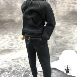 1 12 Hoodie Pants Trousers Male Clothes Model Fit 6#x27;#x27; SHF Mfex Action Figure Toy $12.99