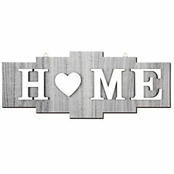 Home Signs for Home Decor Wood Home Sign Home Heart Rustic Wall Chic Color $12.39
