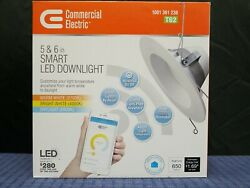 Commercial Electric T62 5 or 6 inch Smart LED Dimmable Downlight