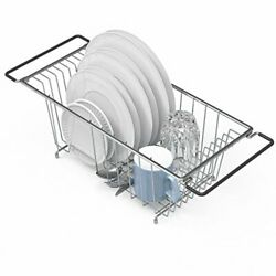 In Sink Dish Drying Rack Large Drainer Over The Kitchen For Small Spaces $23.13