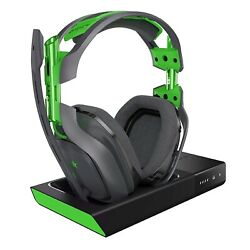 ASTRO Gaming A50 Wireless Dolby Gaming Headset Black Green for Xbox One PC $109.00
