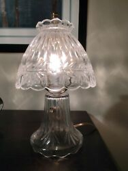 Small Vintage Small Glass Lamps $59.00
