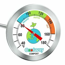 Cootway Compost Thermometer 16 Inch Stem Backyard Compost Thermometer Waterpr... $21.57
