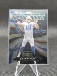 Justin Herbert 2020 Select Turbocharged #T24 Rookie Card RC Chargers $9.99