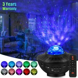 LED Starry Night Sky Galaxy Projector Lamp 3D Ocean Wave Star Light Party Decor $26.99