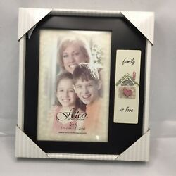 """Fetco Home Decor Pitcure Frame """"Family Is Love"""" 4""""x6"""" $9.20"""